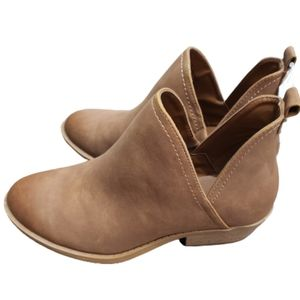 Universal Thread Cognac Nora Bootie Shoes NWT